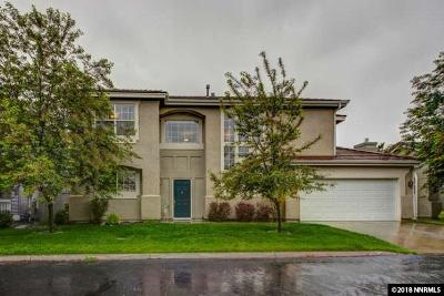 Washoe County Single Family Home New: 9685 Otter Way