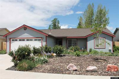 Fernley Single Family Home Active/Pending-Loan: 622 Garden Circle
