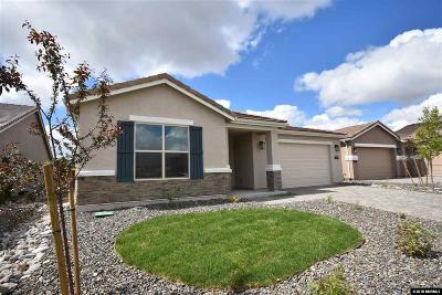 Washoe County Single Family Home New: 809 Sweet Briar Lane