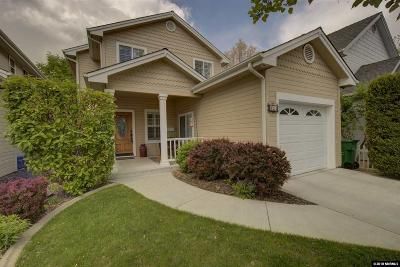 Carson City Single Family Home New: 512 Spear St