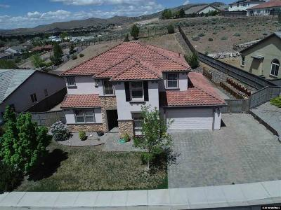 Reno Single Family Home New: 8250 Opal Station Drive