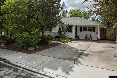 Washoe County Single Family Home New: 1660 Allen