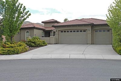 Reno Single Family Home Active/Pending-Loan: 10080 Bull Rider Ct