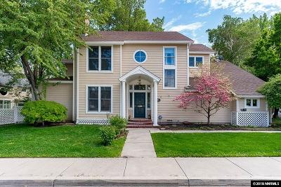 Carson City Single Family Home New: 533 W Caroline