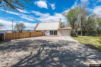 Reno Single Family Home Active/Pending-Loan: 3505 Brant St