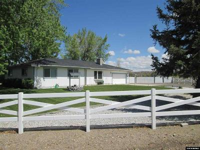 Gardnerville Single Family Home Active/Pending-House: 1988 Sorrel Lane