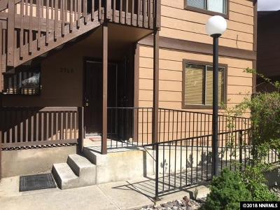 Washoe County Condo/Townhouse New: 2968 W Tierra Verde