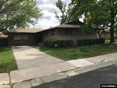 Washoe County Single Family Home New: 1840 Windsor