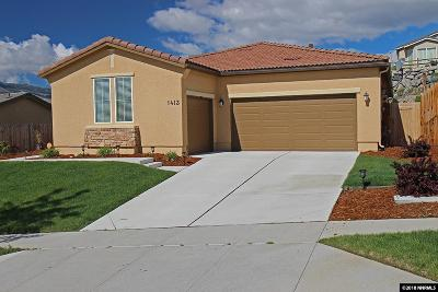 Reno Single Family Home Active/Pending-Loan: 1413 Bluewood Drive