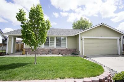 Washoe County Single Family Home New: 1816 Camelback