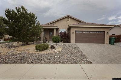 Washoe County Single Family Home New: 6587 Chula Vista Drive