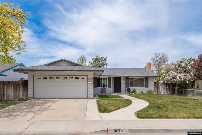 Washoe County Single Family Home New: 3075 Parkland