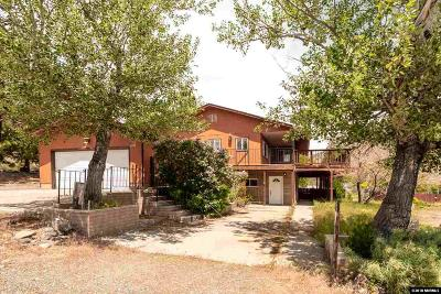 Gardnerville Single Family Home New: 3470 Topaz