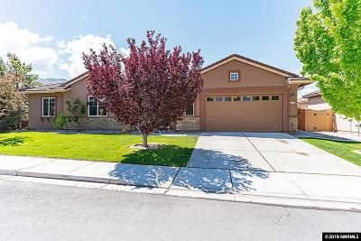 Reno Single Family Home New: 2610 Trail Rider