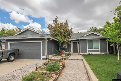 Washoe County Single Family Home New: 1940 Quail Run Road