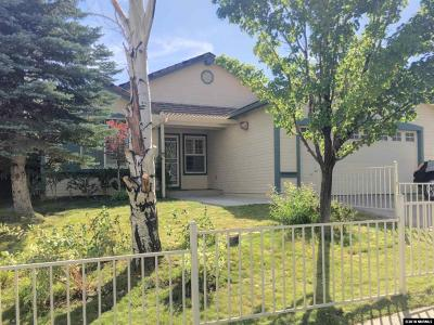 Washoe County Single Family Home Active/Pending-Loan: 3070 Fairlands Drive