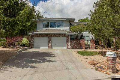 Reno Single Family Home For Sale: 3608 Grand Teton Ct