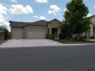 Fernley Single Family Home Active/Pending-Call: 1385 Mountain Rose Drive
