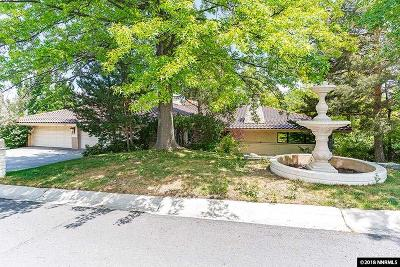 Washoe County Single Family Home New: 2605 W Lakeridge Shores