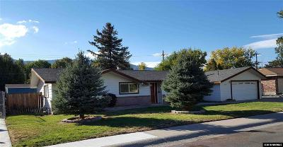 Carson City Single Family Home New: 236 Tahoe