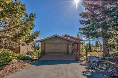 South Lake Tahoe CA Single Family Home For Sale: $929,000