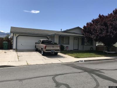 Carson City Single Family Home Active/Pending-Loan: 1126 Cascade Drive