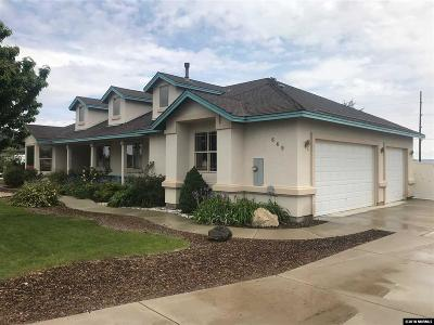 Fernley Single Family Home For Sale: 649 Saddle Horn Way