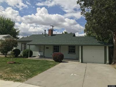 Reno, Sparks, Carson City, Gardnerville Single Family Home New: 1487 Westfield Ave