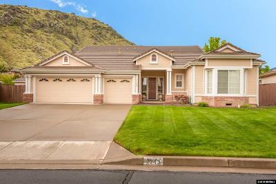 Carson City Single Family Home New: 2243 St. George Way