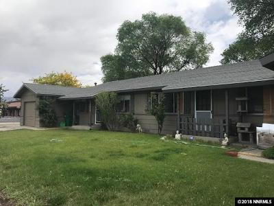 Carson City County Multi Family Home New: 2017 And 2019 Hawaii Circle