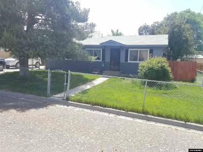 Winnemucca Single Family Home Active/Pending-Call: 1652 Lahontan Ave