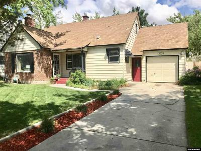 Reno, Sparks, Carson City, Gardnerville Single Family Home New: 1033 University Terrace