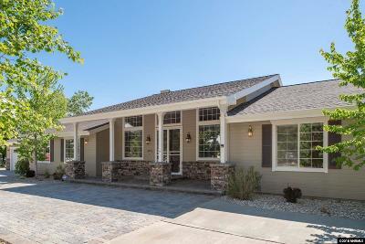 Carson City Single Family Home New: 1675 Wellington East