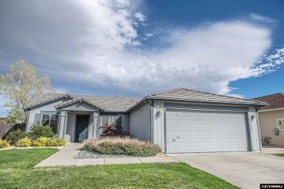 Reno Single Family Home New: 11760 Camel Rock Drive