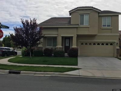Washoe County Single Family Home New: 2460 Burtin Dr.
