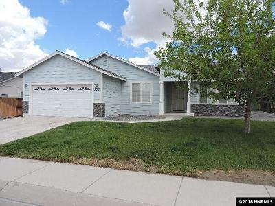 Fernley Single Family Home New: 350 Bens #Way