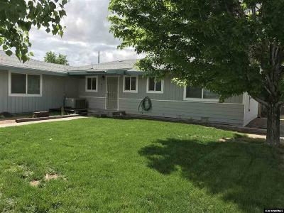 Carson City County Single Family Home New: 441 Appion