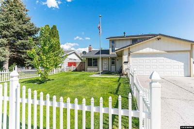 Washoe County Single Family Home New: 881 E York
