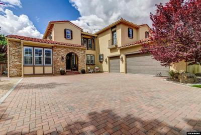 Washoe County Single Family Home New: 8140 Deerbrook Court