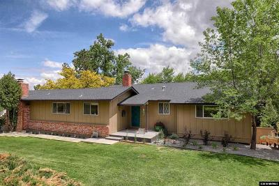 Reno Single Family Home New: 2110 Skyline Blvd