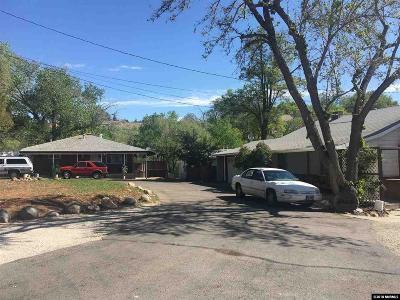 Washoe County Multi Family Home New: 2520-2524 Comstock