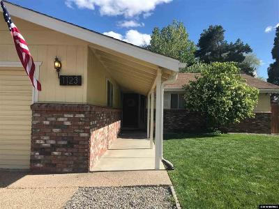 Carson City County Single Family Home New: 1123 Fremont