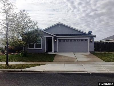 Reno Single Family Home Active/Pending-Loan: 8886 Mahon Drive