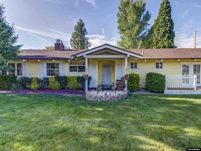 Reno Single Family Home New: 2195 W Plumb Lane