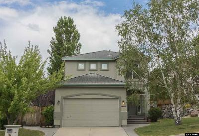 Reno Single Family Home New: 4782 Cougarcreek
