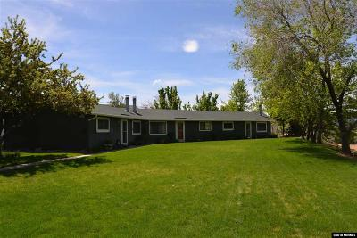 Washoe Valley Multi Family Home For Sale: 1200 Skinner Dr