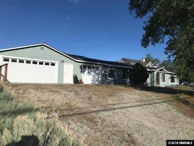 Carson City Single Family Home Active/Pending-Loan: 1771 Pinion Hills