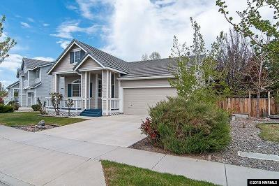Sparks NV Single Family Home New: $344,000