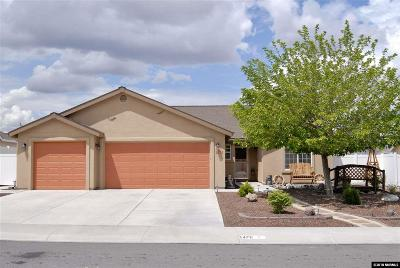 Fernley Single Family Home Active/Pending-Loan: 1476 Grey Bluffs Drive