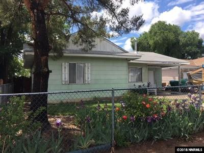 Reno Single Family Home Active/Pending-Loan: 1980 Bishop Street
